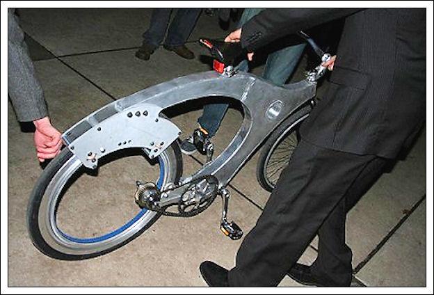 La bicicletta senza raggi Qwerty10
