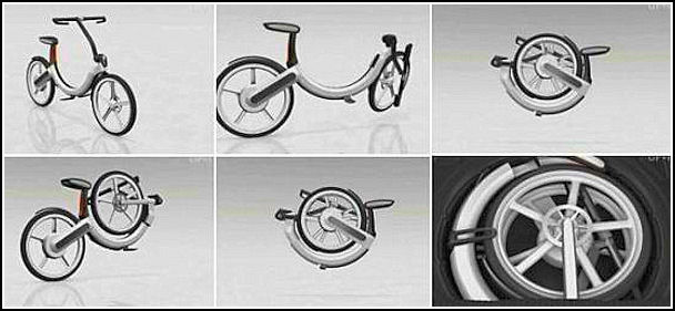 Volkswagen debuts its first folding electric bike at Auto China Vw-fol10