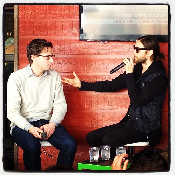 Jared Leto speaking at Fast Company grill 12 mars 2013  69883_11