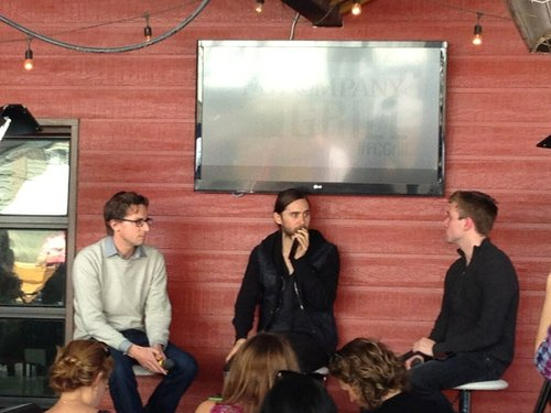 Jared Leto speaking at Fast Company grill 12 mars 2013  Tumblr17