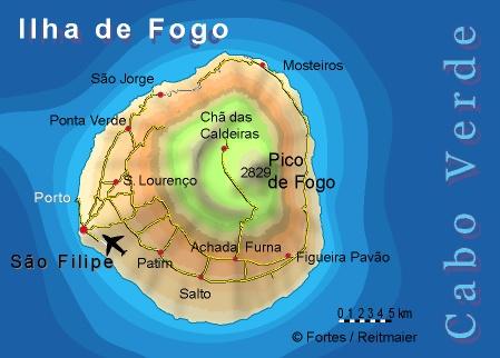 """Petit tour au Cap Vert """"Cabo Verdé"""" Carte_11"""