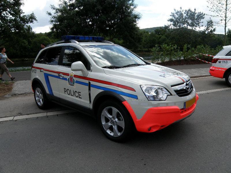 Blaulichtfahrzeuge aus Luxemburg. 03017