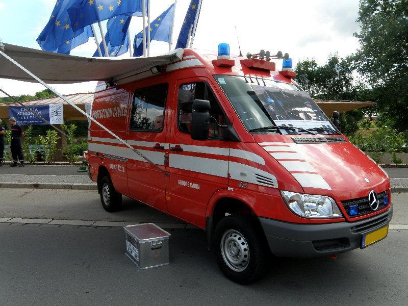 Blaulichtfahrzeuge aus Luxemburg. 03316