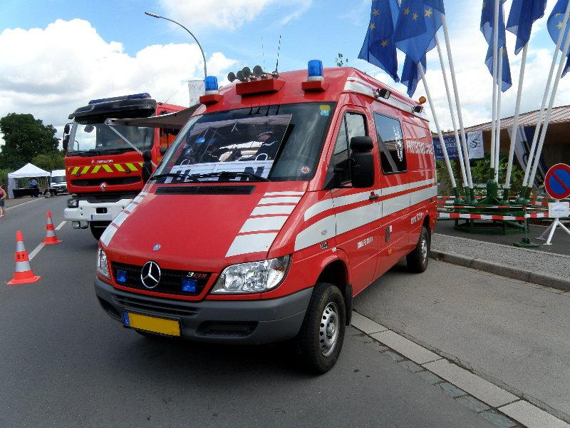 Blaulichtfahrzeuge aus Luxemburg. 03417