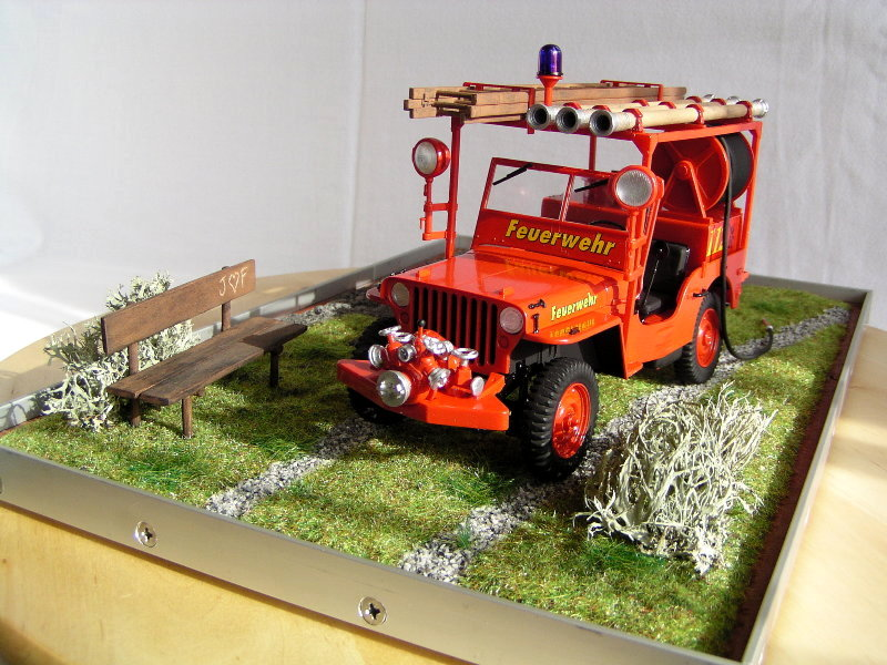 Fire Jeep Italeri 1:24 07711