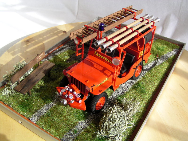 Fire Jeep Italeri 1:24 08010