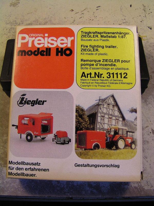 Mein Feuerwehrbausatz Vorrat 23710
