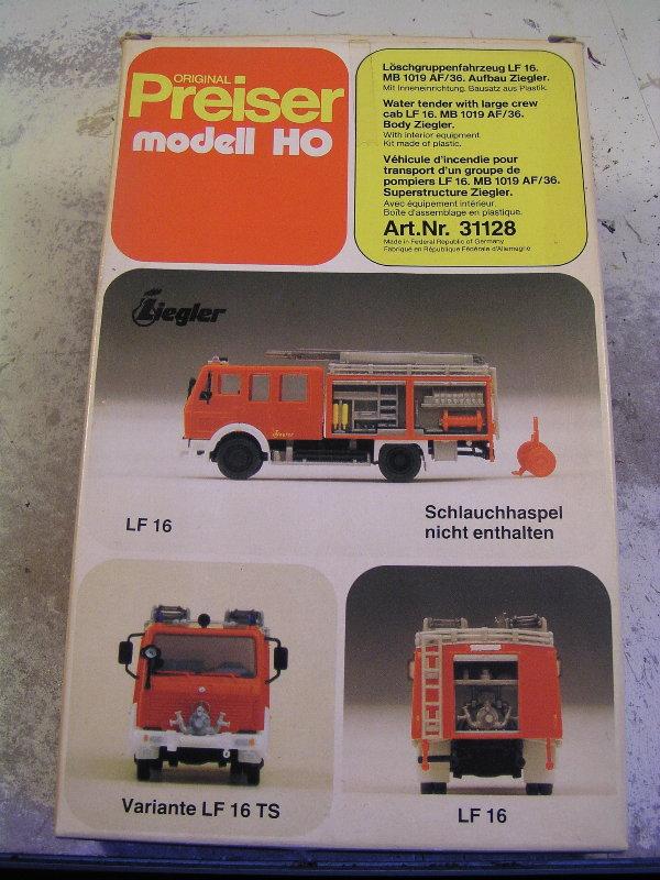 Mein Feuerwehrbausatz Vorrat 24211