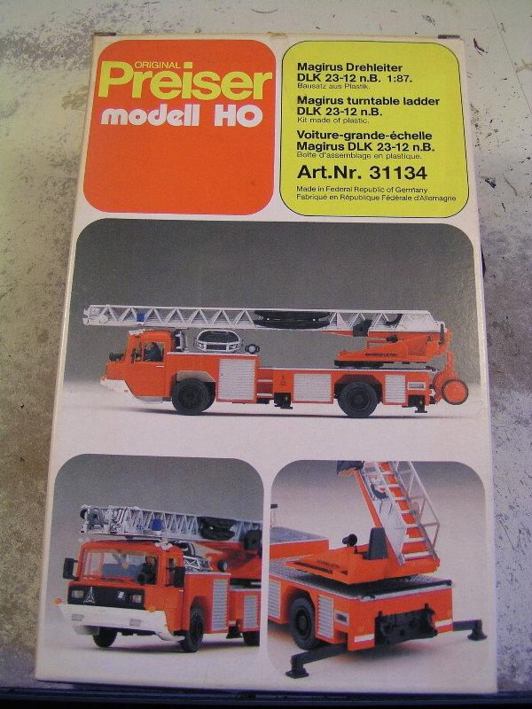 Mein Feuerwehrbausatz Vorrat 24311