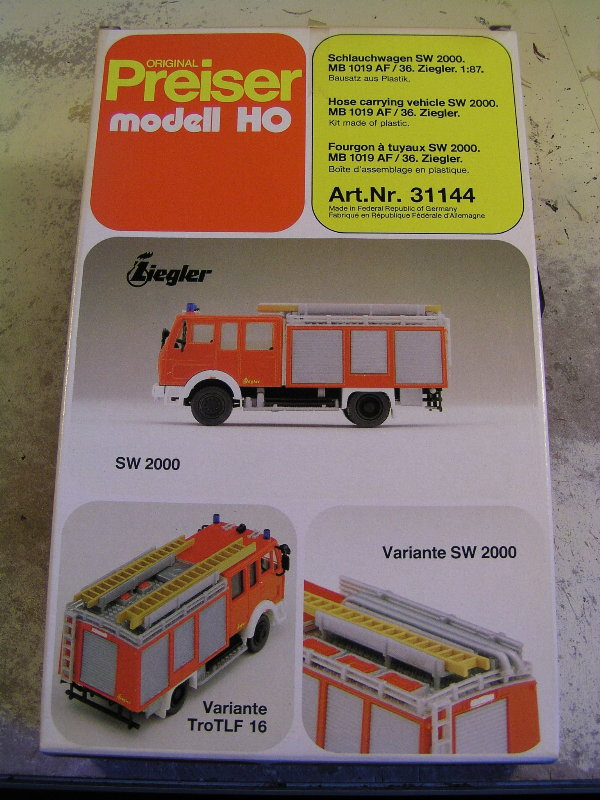 Mein Feuerwehrbausatz Vorrat 24411
