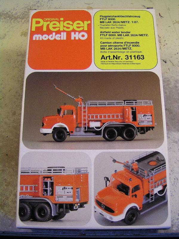 Mein Feuerwehrbausatz Vorrat 24611