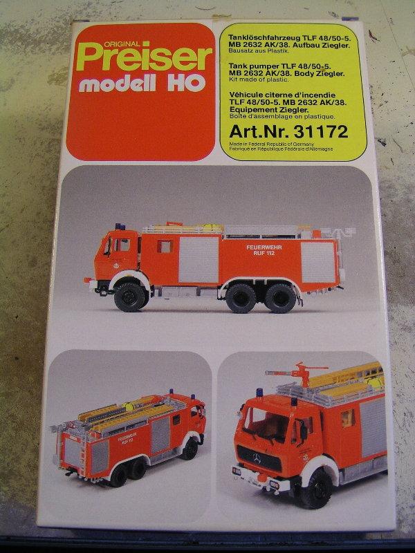 Mein Feuerwehrbausatz Vorrat 24711