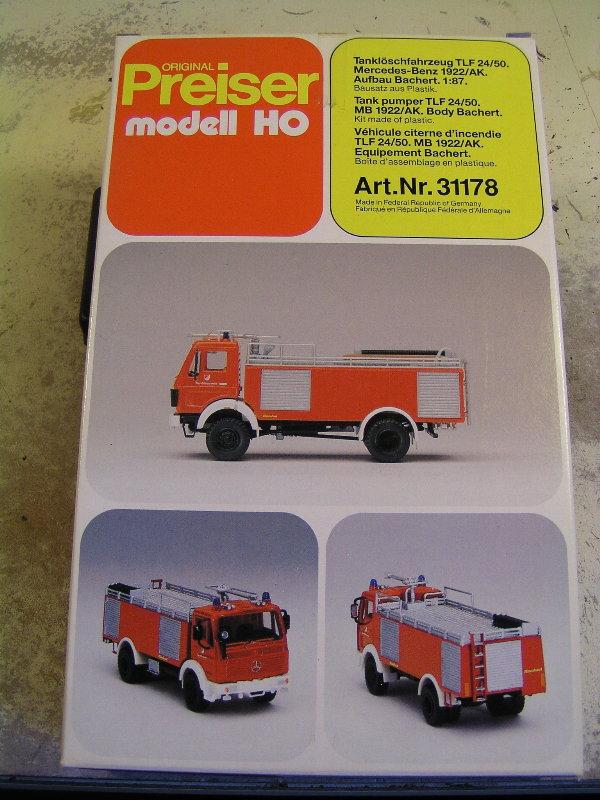 Mein Feuerwehrbausatz Vorrat 24811