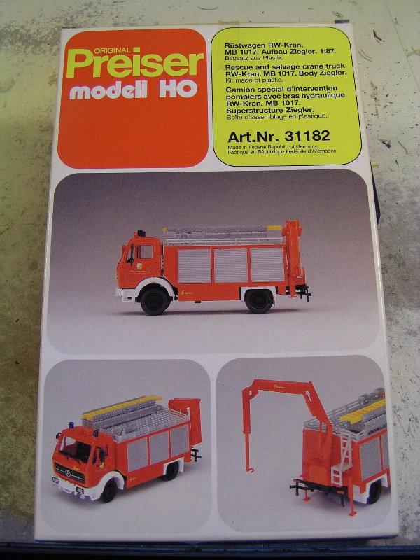 Mein Feuerwehrbausatz Vorrat 25011
