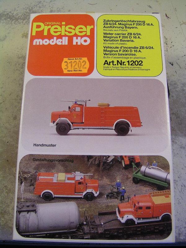 Mein Feuerwehrbausatz Vorrat 25211