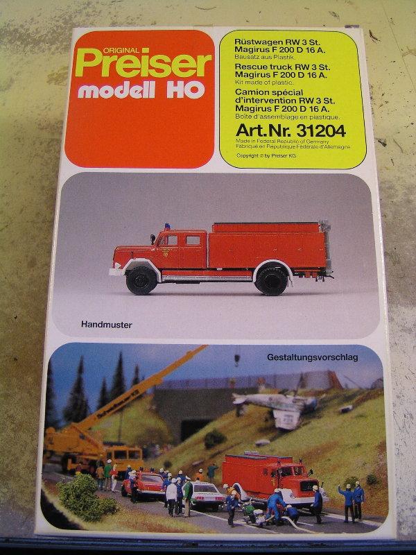 Mein Feuerwehrbausatz Vorrat 25311