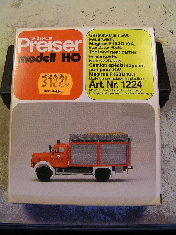Mein Feuerwehrbausatz Vorrat 25411