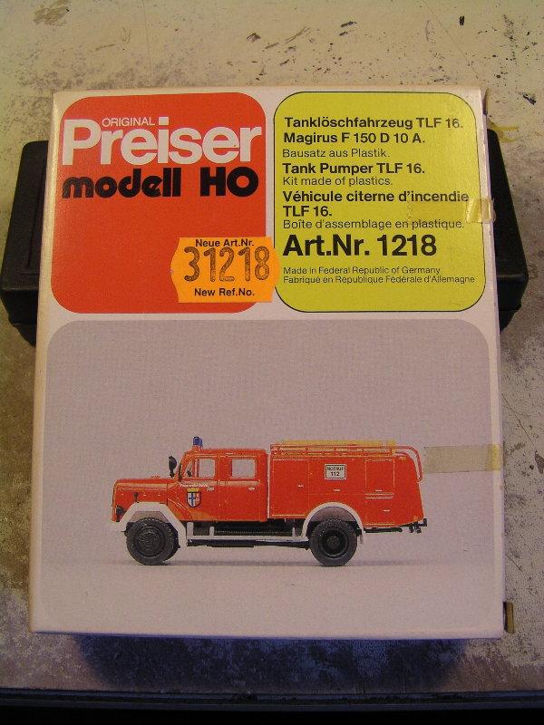 Mein Feuerwehrbausatz Vorrat 25511