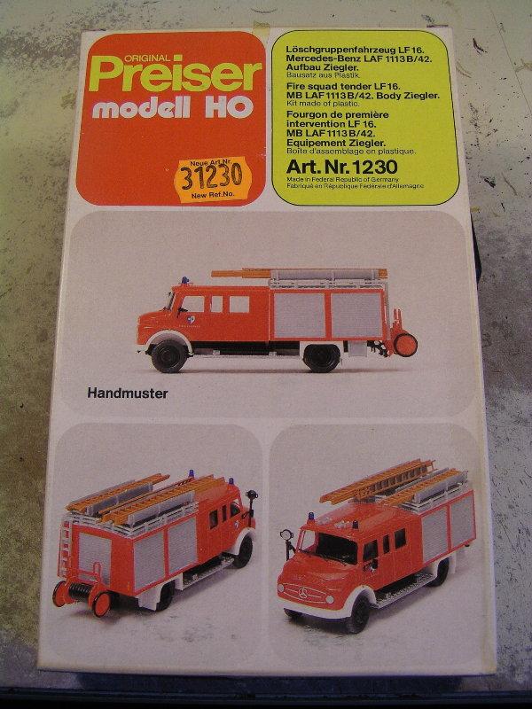 Mein Feuerwehrbausatz Vorrat 25611