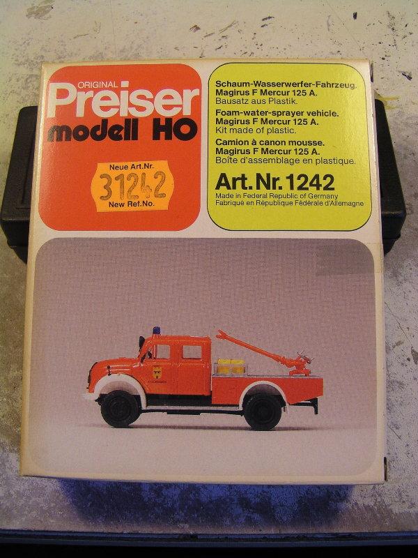 Mein Feuerwehrbausatz Vorrat 25711