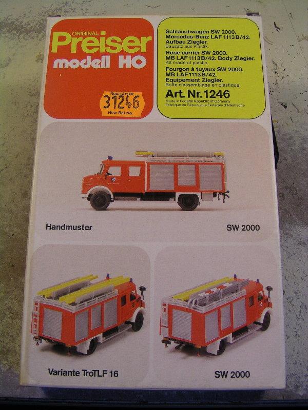 Mein Feuerwehrbausatz Vorrat 25811