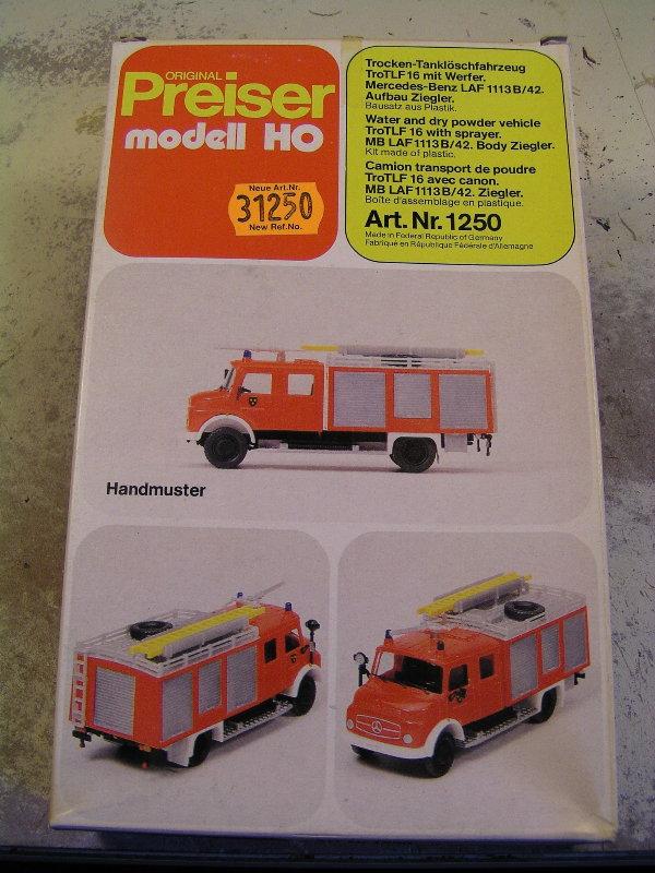 Mein Feuerwehrbausatz Vorrat 25911
