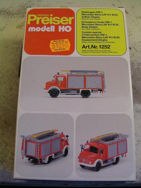 Mein Feuerwehrbausatz Vorrat 26011
