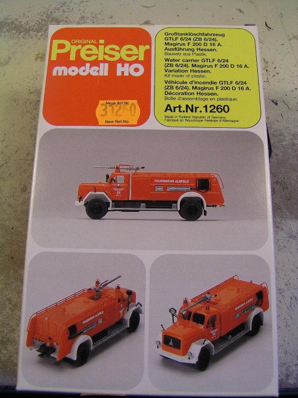 Mein Feuerwehrbausatz Vorrat 26111