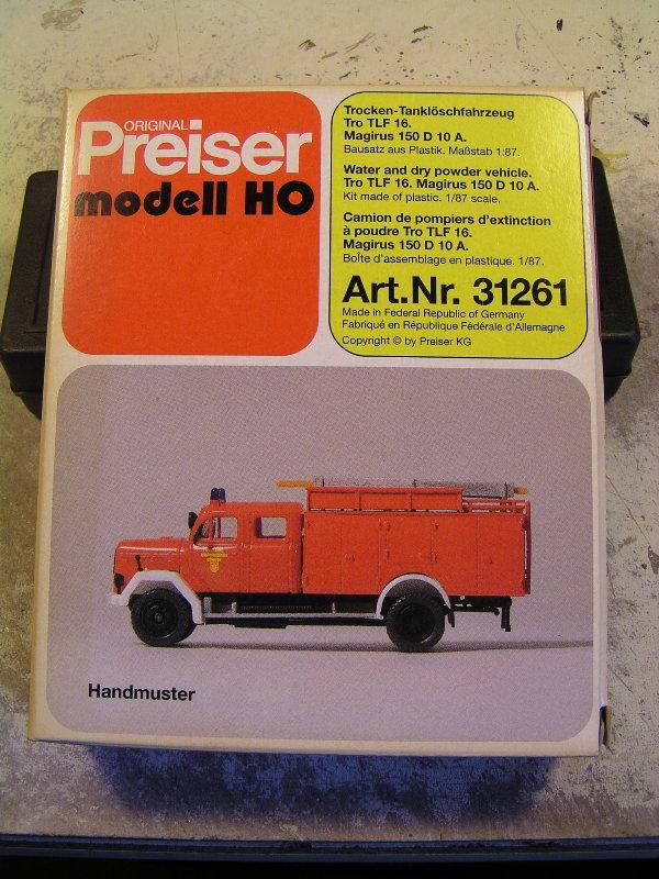 Mein Feuerwehrbausatz Vorrat 26211