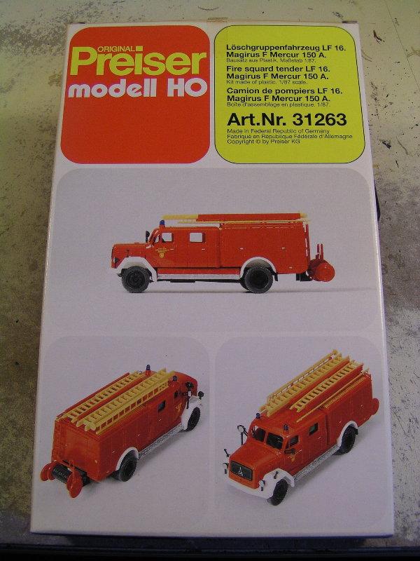 Mein Feuerwehrbausatz Vorrat 26311