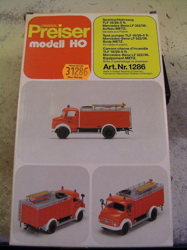 Mein Feuerwehrbausatz Vorrat 26711
