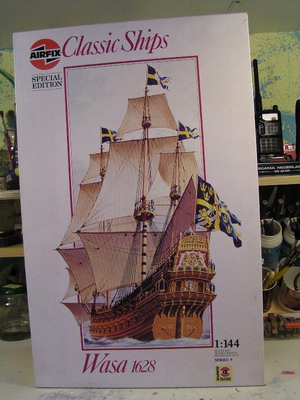 Segelschiff Wasa1628 Masstab1:144 0925611