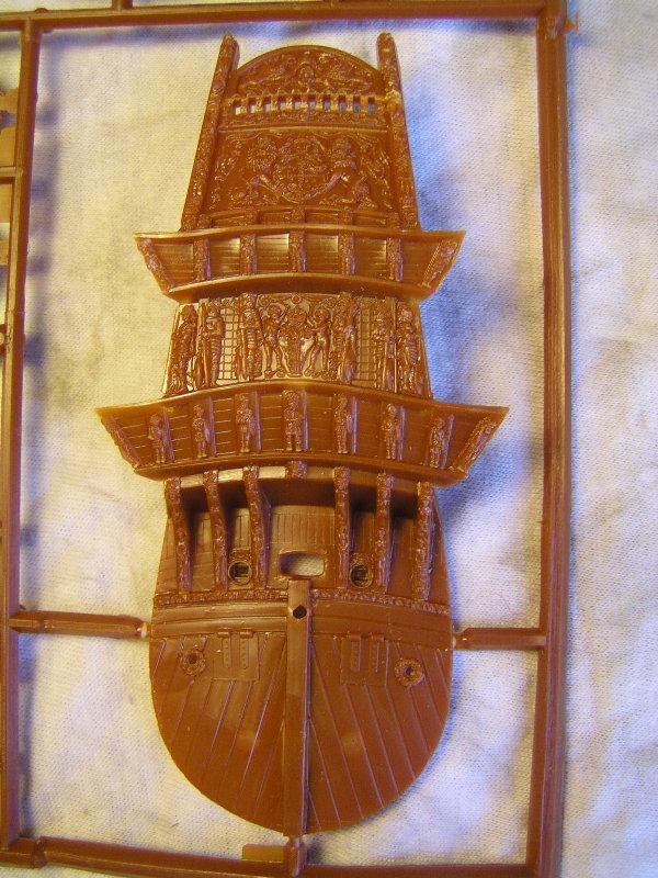 Segelschiff Wasa1628 Masstab1:144 P1062615