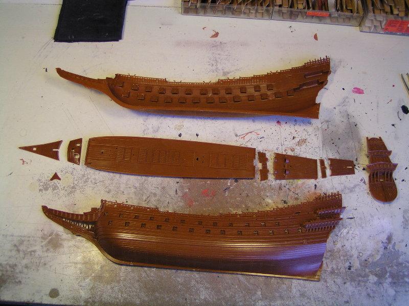 Segelschiff Wasa1628 Masstab1:144 P2152710