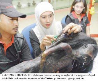 Hantu Jenglot yang dikaji oleh Seekers Malaysia Hantu-11