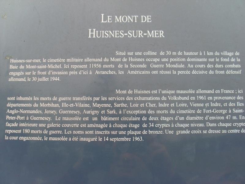 Cimetière Militaire Allemand du Mont de Huisnes (50) Week_e13