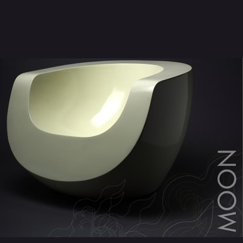 [Fauteuil] Moon Armchair by Mike To Moon10