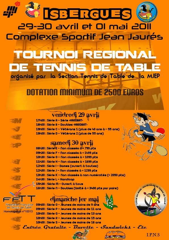 Tournoi ISBERGUES 29/30 avril - 01 mai Affich10