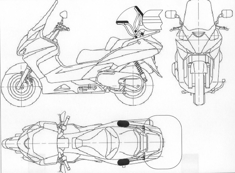 Armrests for HONDA SilverWing- NOT Just a Thought Anymore Pictur16