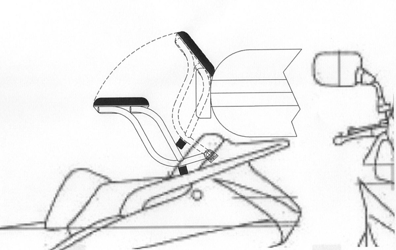 Armrests for HONDA SilverWing- NOT Just a Thought Anymore Pictur17