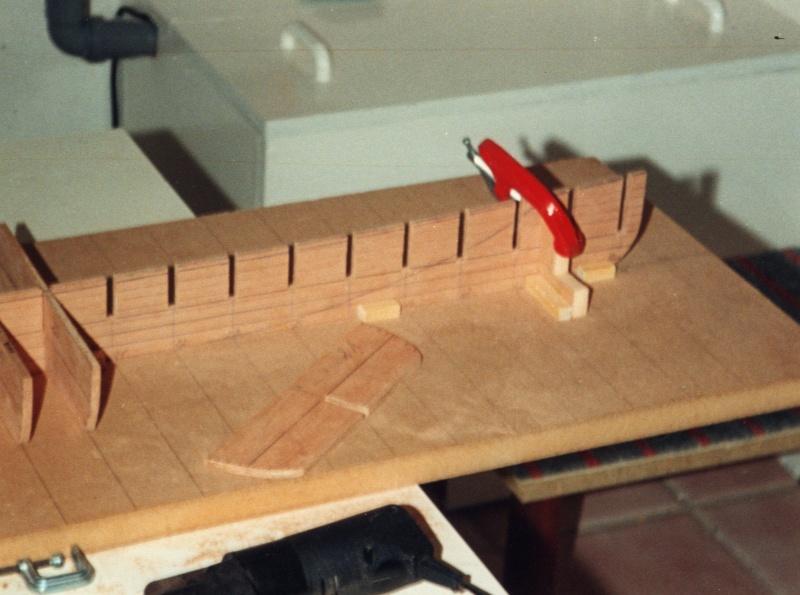Seitenraddampfer ROBT.E.LEE 1:75 aus Holz 0143