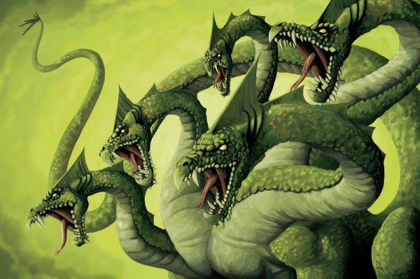 Hyaku Kashira, the Hydra Hydra10