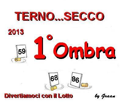 VINCITORI TERNO SECCO OMBRA-PENNY-MELISSA Premio10