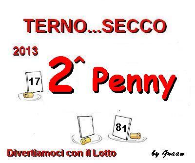 VINCITORI TERNO SECCO OMBRA-PENNY-MELISSA Premio11