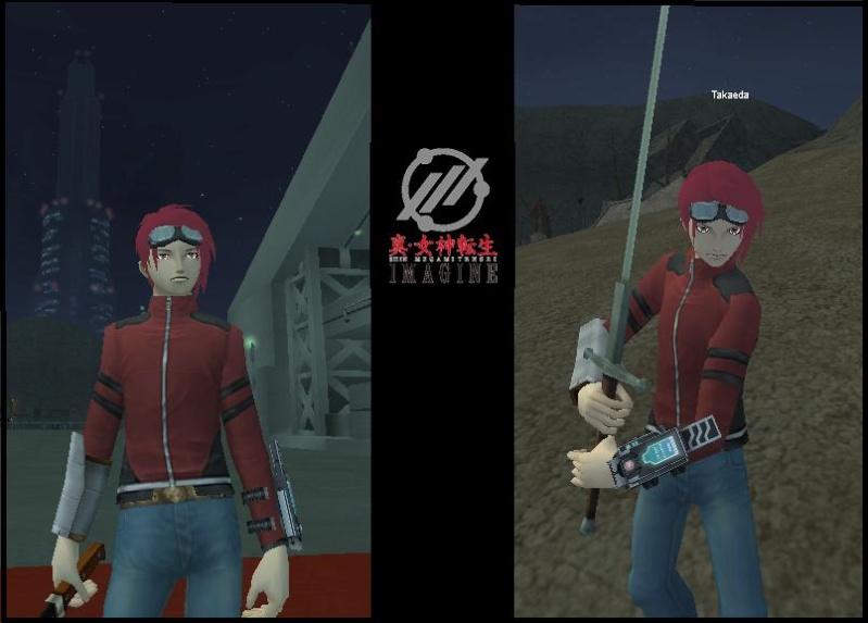 Takaeda of Shin Megami Tensei Imagine Online Takaed10