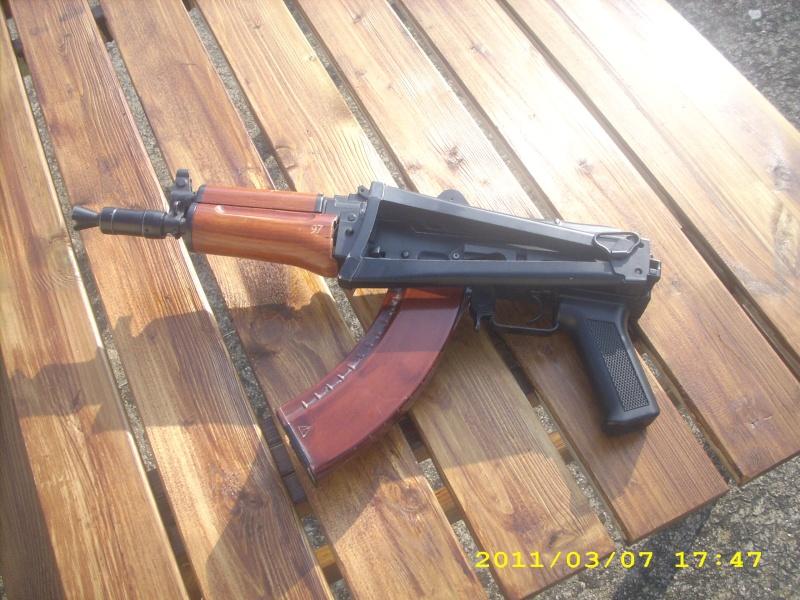 AK 74U DBOYS ET COLT 1911 KJWORKS Dsci0211