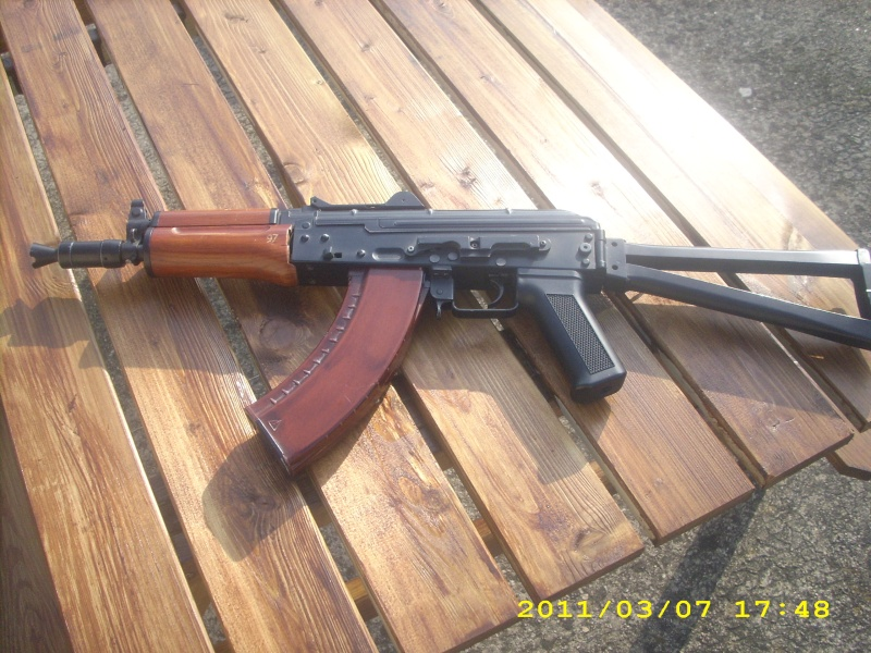AK 74U DBOYS ET COLT 1911 KJWORKS Dsci0212