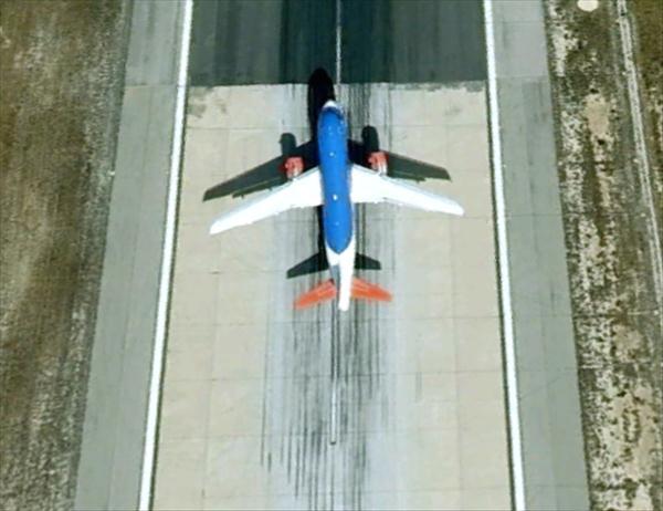 Les avions en phase d'atterrissage aperçus sur Google Earth Aviona10