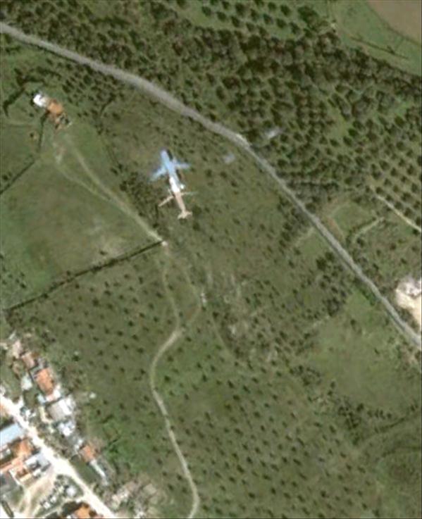 Les avions en phase d'atterrissage aperçus sur Google Earth Avionl15