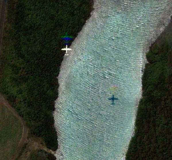 Les avions en phase d'atterrissage aperçus sur Google Earth Avionm15